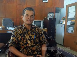 Ketua KPU NTB, Suhardi Soud (HarianNusa.Com/f3)